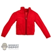 Coat: Special Figures Mens Red Fleece Jacket
