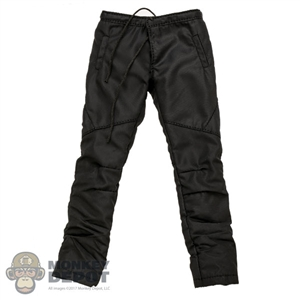 Pants: Special Figures Mens Black Ski Pants