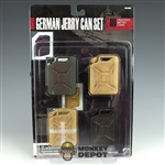 Carded Set: Soldier Story German WWII Jerry Can Set Metal (SS-034)