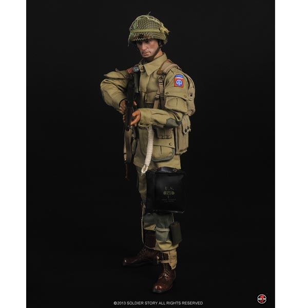 """Soldier Story 82nd Airborne Normandy 12/"""" Tool loose 1//6th scale"""