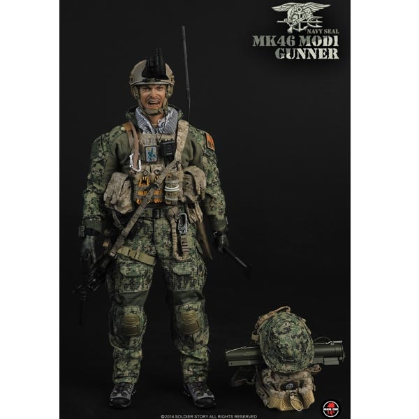 """ZY 1//6th Soldier SEAL Special Forces AOR2 Belt Model for 12/"""" Action Figure Doll"""