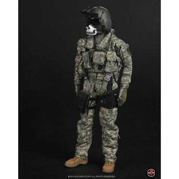 Body /& Hands for Soldier Story SS087 U.S.ARMY ACU PILOT//AIRCREW 1//6 Scale 12/'/'