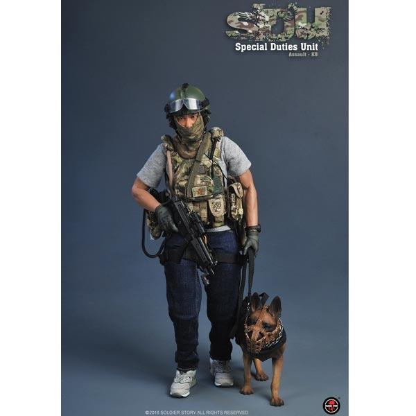 SoldierStory SS 097 SDU MP5 Combat Clip Model Black for 1//6 Scale Action Figure