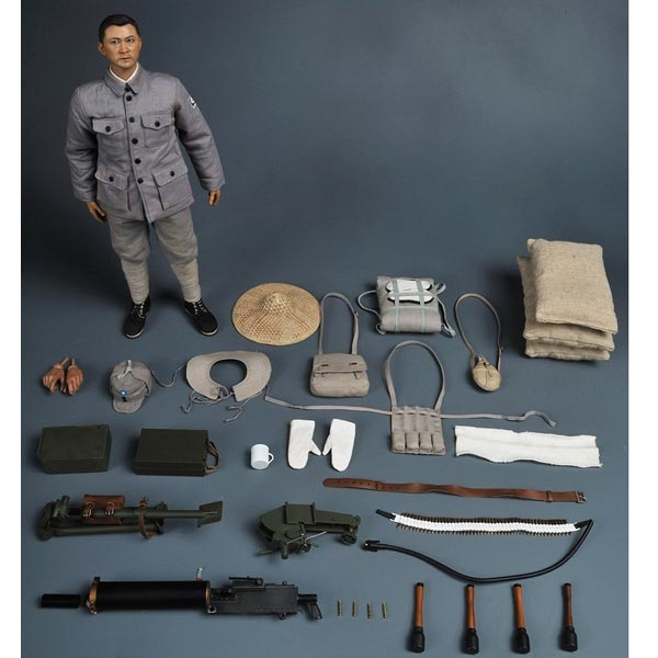 Shoulder Pad Eighth Route Gunner 1//6 Scale Soldier Story Action Figures