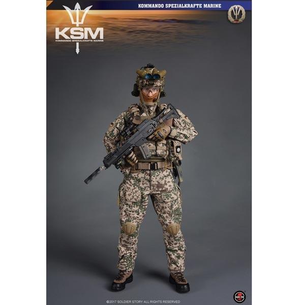 1//6 Scale Soldier Story Figures Kommando Spezialkrafte Marine Pouches Set