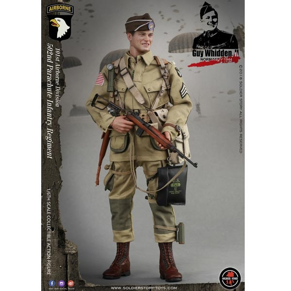 PREORDER Boxed Figure: Soldier Story WWII 101ST Airborne Division