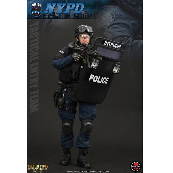 "26723501 Monkey Depot - Soldier Story NYPD ESU ""Tactical Entry Team"" (SS-100)"