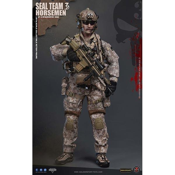 SoldierStory SS120 1//6 Scale Seal Team 3 Horseman Head Sculpt Model