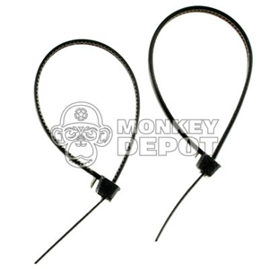 Handcuffs Soldier Story Flexcuffs Zip Ties Black