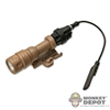 Flashlight: Soldier Story Surefire Vampire Rail Mount - Tan