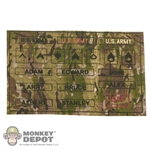 Insignia: Soldier Story US Army Name Tapes and Ran - Multicam