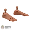 Feet: Soldier Story S2.5 Feet w/Ankle Pegs