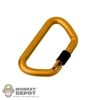 Tool: Soldier Story Carabiner Locking Orange