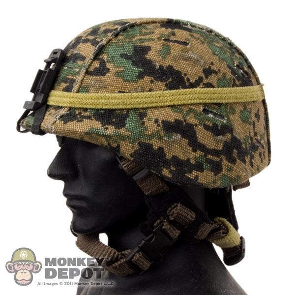 6df8dc13ee9 Monkey Depot - Helmet  Soldier Story USMC MICH w Cover