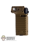Flashlight: Soldier Story Tan Streamlight Sidewinder Flashlight