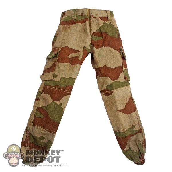 Monkey Depot Pants Soldier Story French Desert Camo Pants Dirty