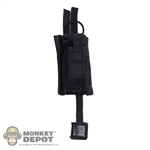 Pouch: Soldier Story Black Tactical Radio Pouch