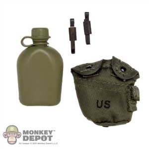 Canteen: Soldier Story US Modern LC2 1QT w/Pouch
