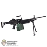 Rifle: Soldier Story M249 MK1 Machine Gun w/200rd Ammo Drum