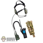 Radio: Soldier Story Radio w/Headset & Pouch