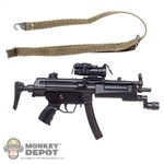 Rifle: Soldier Story MP5A3 SMG w/Red Dot Sight & Sling