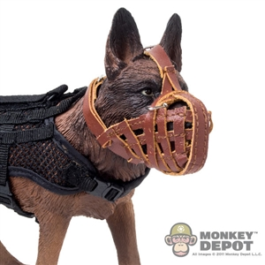 Mask: Soldier Story Leather Dog Muzzle