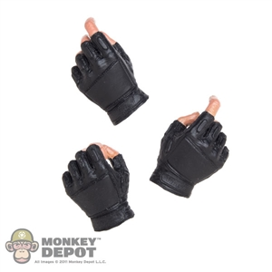 Hands: Soldier Story Molded Fingerless Glove Set