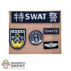 Insignia: Soldier Story SWAT Patches