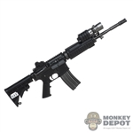 Rifle: Soldier Story AR-15 w/Surefire Foregrip Tactical Light