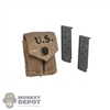Ammo: Soldier Story M-1923 .45 Mag Pouch w/Ammo