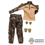 Uniform: Soldier Story Mens ISOF Camo Combat Uniform w/Pads