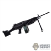 Rifle: Soldier Story M249 SAW Machine Gun (metal)