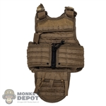 Vest: Soldier Story Mens Paraclete RAV Tactical Armor Vest w/Zip Up MOLLE Back Panel