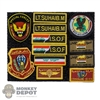 Insignia: Soldier Story ISOF Gunner Patch Set