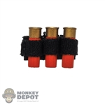Ammo: Soldier Story Tactical Shotgun Holster w/Red Shells