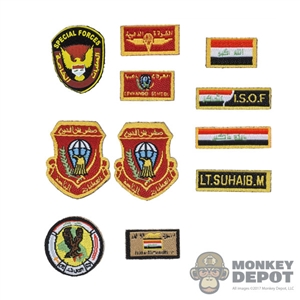 Insignia: Soldier Story Iraq Special Operations Forces Patch Set