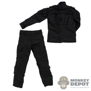 Uniform: Soldier Story Mens ISOF Black Tactical Uniform