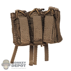 Pouch: Soldier Story Triple M4/9mm Molle Mag Pouch