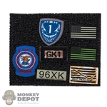 Insignia: Soldier Story Voodoo Patch Set
