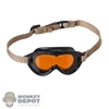 Mask: Soldier Story Mens M-1944 Dust Goggles (Dark Polarizing Lens)