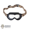Mask: Soldier Story Mens M-1944 Dust Goggles (Clear Lens)
