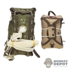 Pack: Soldier Story T-5 Parachute Main Pack (w/harness) + T-5 Reserve Chest Pack