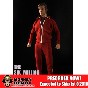 Boxed Figure: Supermad Toys The Six Million Bionic Man (SMT-SMBMan)