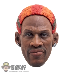 Hair: Storm Collectibles Dennis Rodman Orange/Green/Red