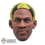 Hair: Storm Collectibles Dennis Rodman Yellow/Green/Black