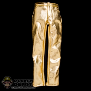 Pants: Storm Collectibles Gold Jeans