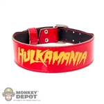 Belt: Storm Collectibles Red Hulkamania Belt