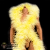 Scarf: Storm Collectibles Yellow Feather Boa