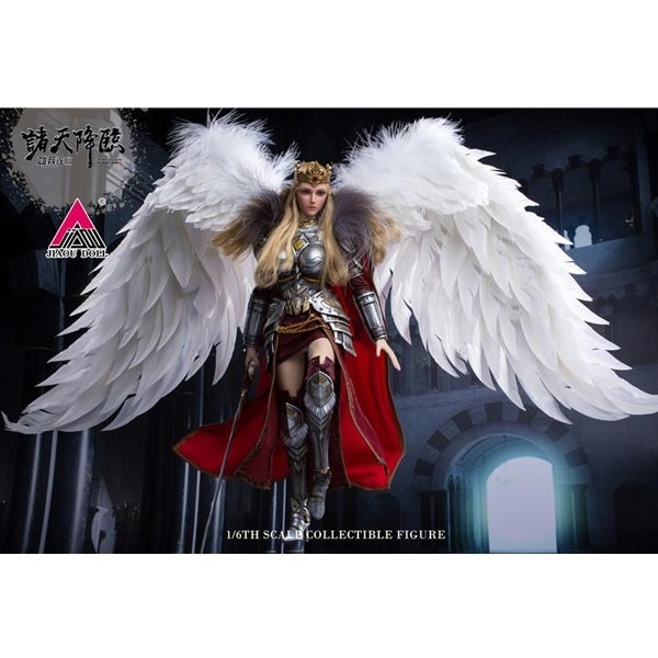 1//6 scale toy Angel Yan Red Leather Like Skirt Crown Edition