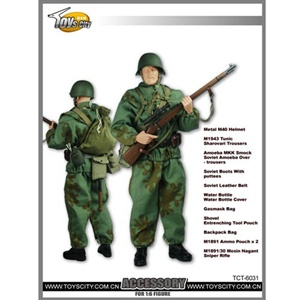 Uniform Set: Toys City Russian WWII Sniper Accessory TCT-6031